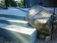 Custom concrete work in Glen Ellen, Sonoma
