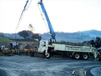 Completing large foundations with our in-house concrete pumps is only one of the advantage that gives our company the competitive edge over our competitors.  Large foundation slabs like this one are no problem for Sonoma Marin Construction.